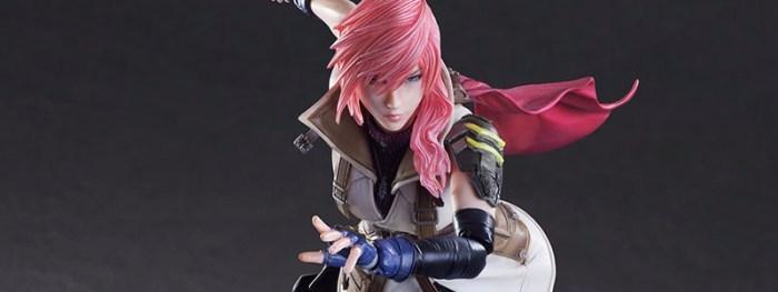 Lightning Dissidia Final Fantasy – Play Arts Kai – Square Enix