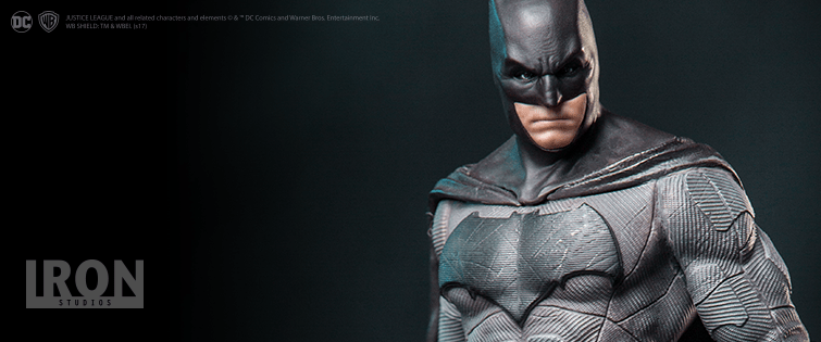 Iron Studios – Batman Deluxe Art Scale 1/10 – Justice League
