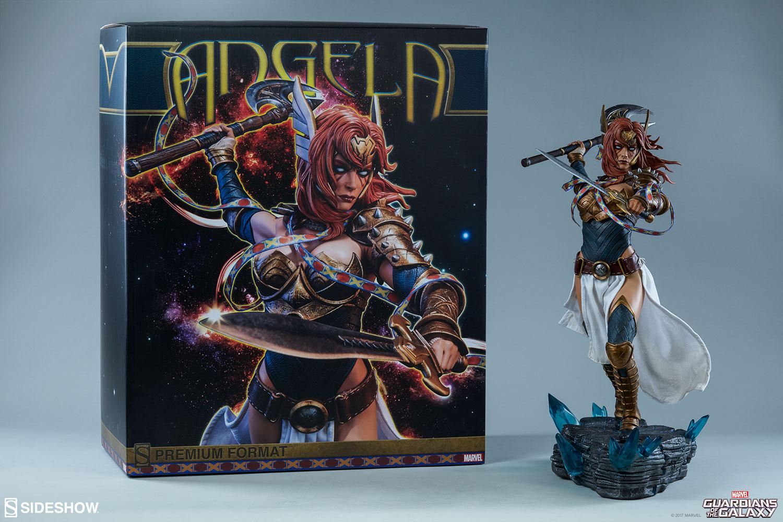 Sideshow: Angela Premium Format Figure – Foto del Prodotto Retail –