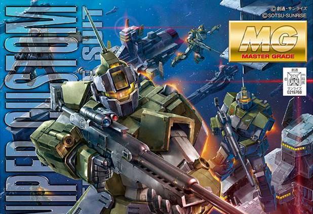 Bandai: MG 1/100 RGM-79SC GM Sniper Custom Info ed Immagini