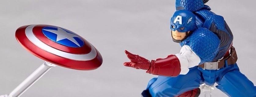 Kaiyodo AMAZING YAMAGUCHI Captain America