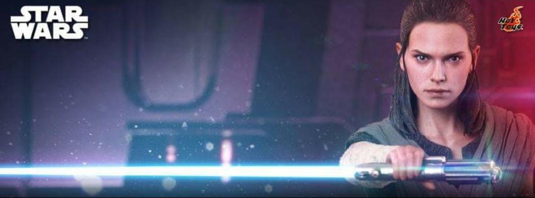 Hot Toys: Star Wars VIII The Last Jedi 1/6th Scale Rey (Jedi Training)