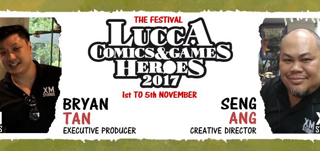 XM Studios a Lucca Comics & Games 2017