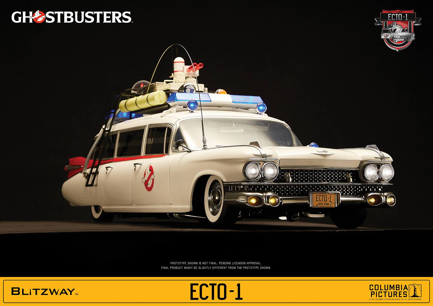 Blitzway Ghostbusters ECTO-1