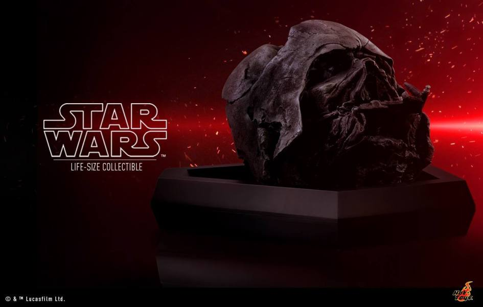 "Hot Toys: Darth Vader Helmet da ""Star Wars Episode VII: The Force Awakens"""