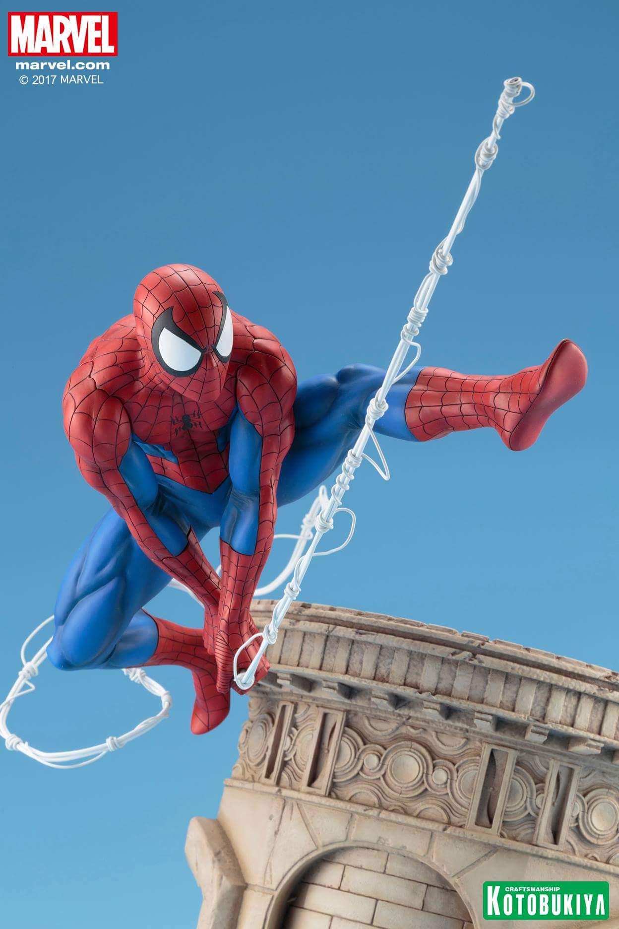 Kotobukiya: Spider-Man webslinger ARTFX 1/6 scale statue