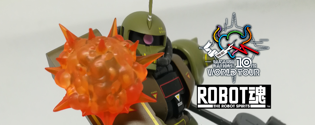 The Robot Spirits Zaku II ver. A.N.I.M.E. (Real Type Color)