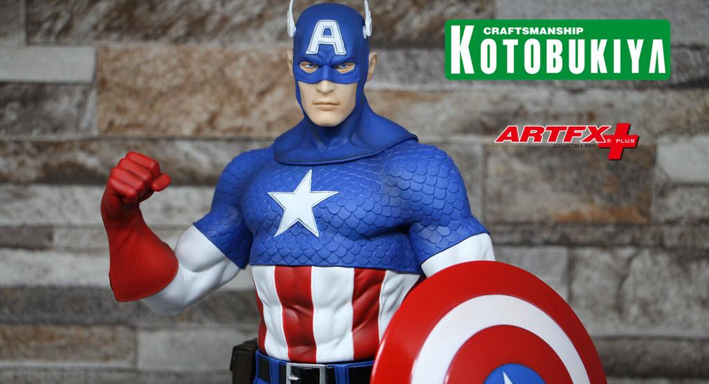 Captain Americ Modern Mythology ARTFX+  – RECENSIONE