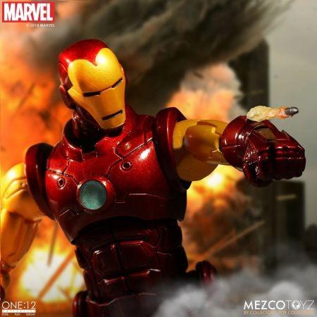 Marvel Comics: Iron Man One 12 Collective Figure di Mezco Toyz