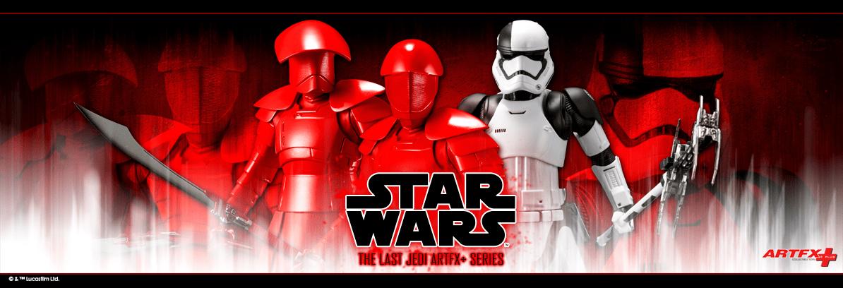 Kotobukiya : Star Wars – The Last Jedi: Elite Praetorian Guard 2Pack ARTFX+