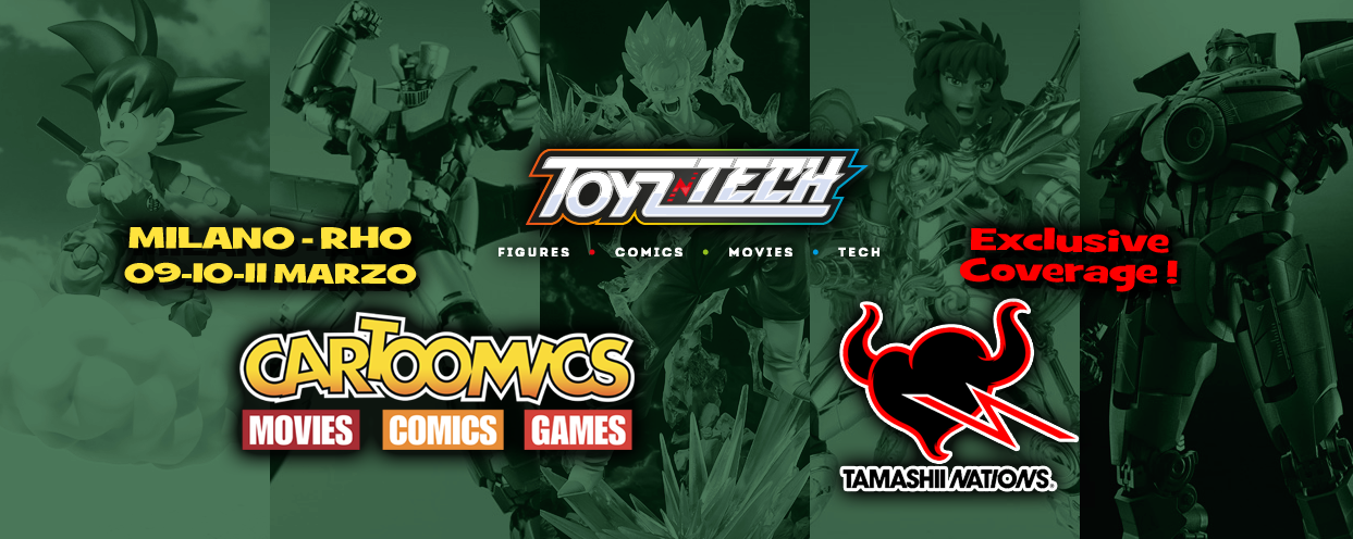 Reportage: Tamashii Nations a Cartoomics 2018