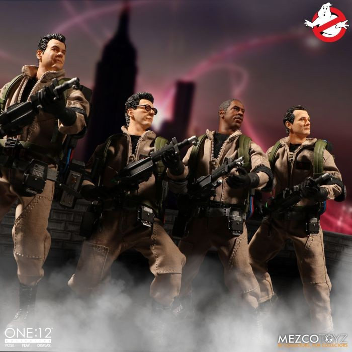 Mezco Toyz- Ghostbusters Deluxe Box Set One:12 Collective