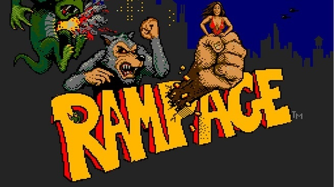 #ClassicArcade – Rampage by Bally Midway