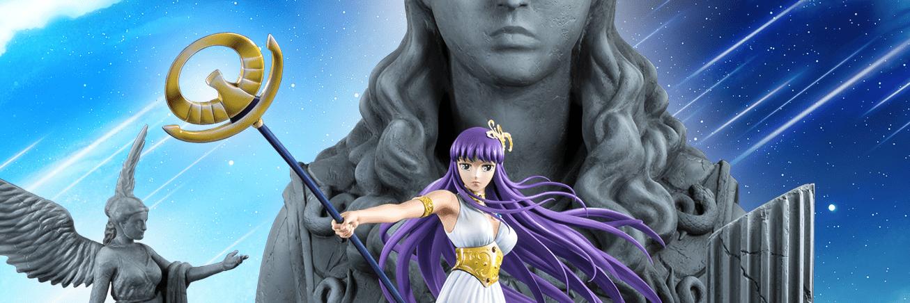 Tsume annuncia la statua di Athena HQS+ da Saint Seiya