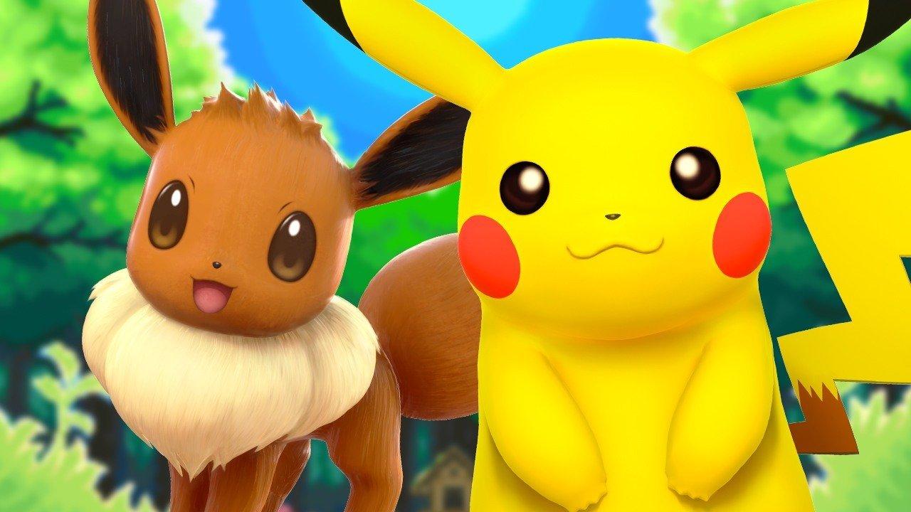 Pokémon: Let's Go, Pikachu!/Eevee! …i Pokemon approdano su Switch!