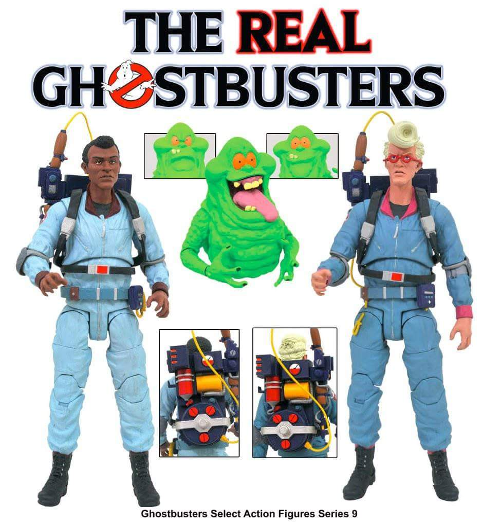 Diamond Select Toys presenta le nuove Action Figures di Ghostbusters