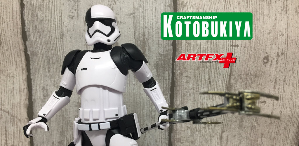 Recensione: First Order Stormtrooper Executioner ARTFX+