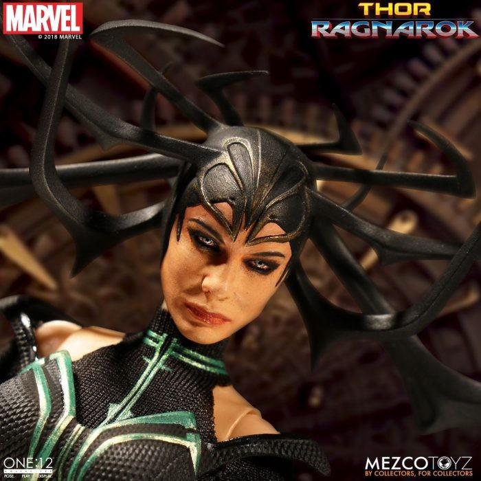 Mezco Toyz- Thor Ragnarok Hela One:12 Collective