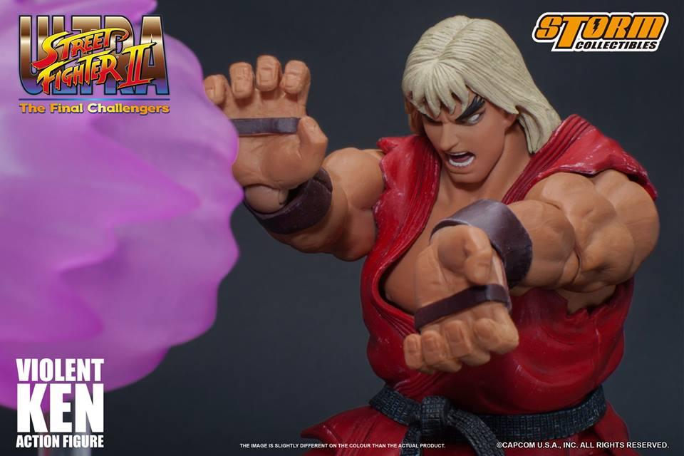 Violent Ken da Ultra Street Fighter II – Storm Collectibles