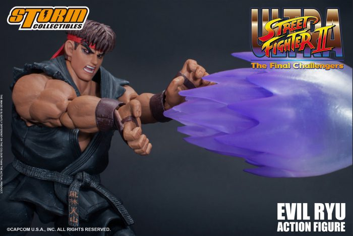 Evil Ryu da Ultra Street Fighter II – Storm Collectibles