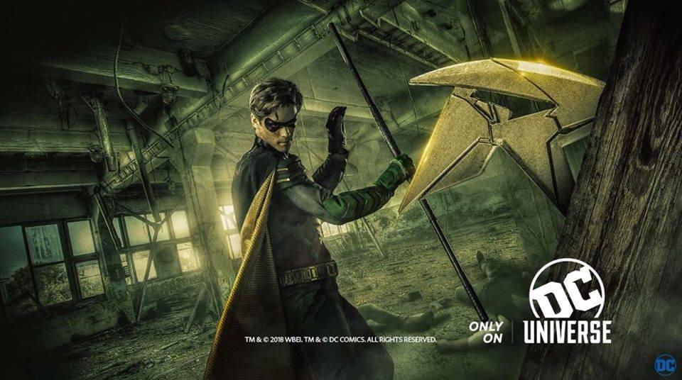 DC Universe'S Titans, on line i poster promozionali