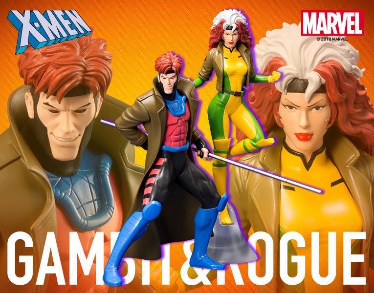 Kotobukiya: Gambit & Rogue 1/10 ARTFX+