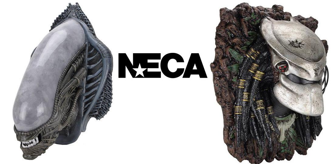 Da Neca i busti da parete di Alien e Predator