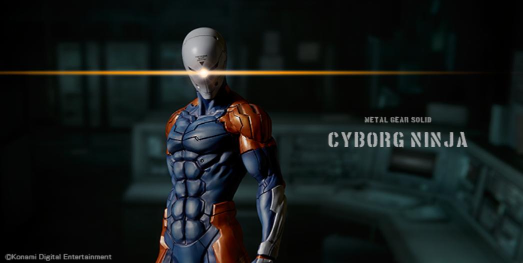 Metal Gear Solid, Cyborg Ninja 1/6 Scale Statue da Gecco