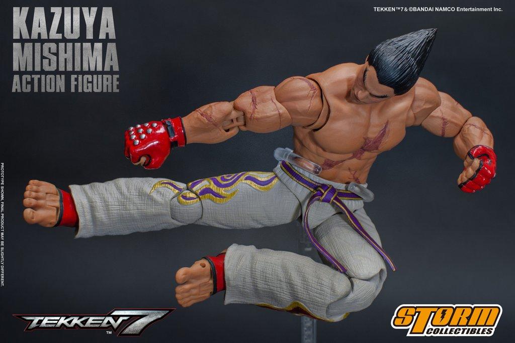 "Kazuya Mishima 1/12 da ""Tekken 7"" prodotta da Storm Collectibles"