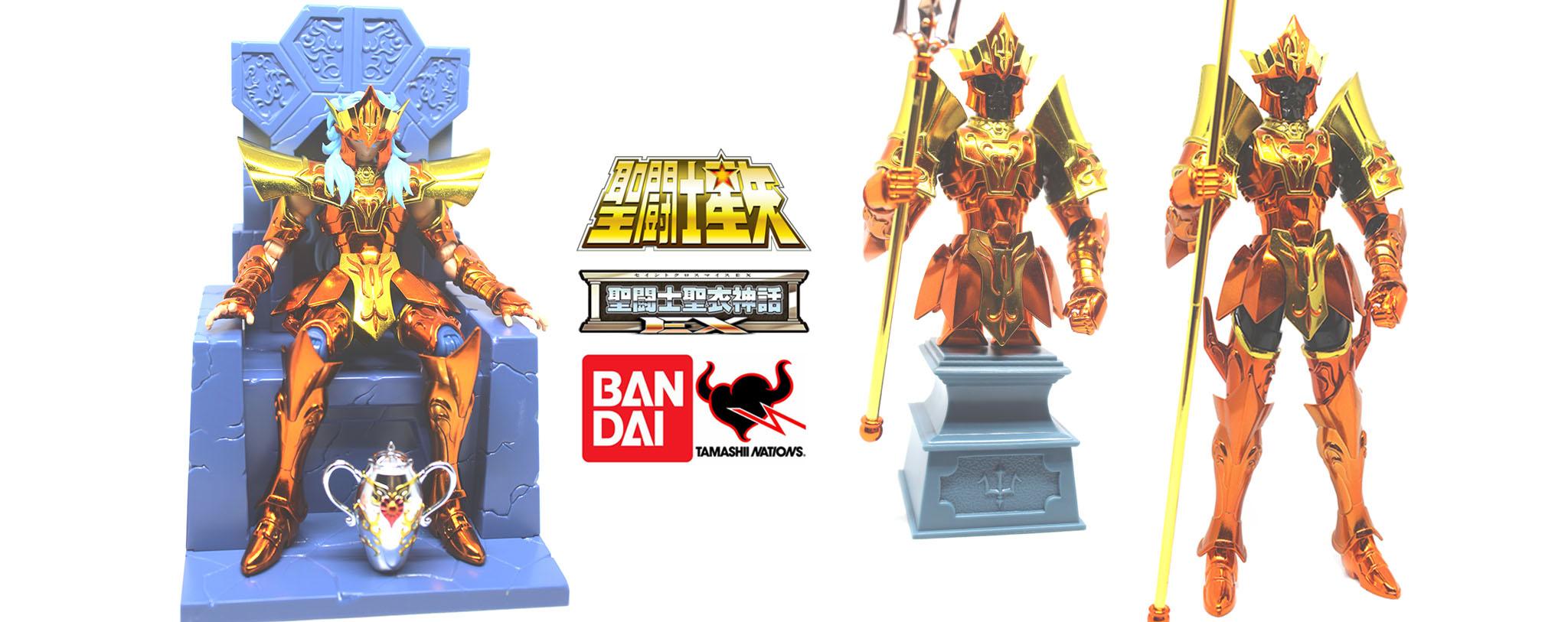 Recensione: Sea Emperor Poseidon (Imperial Throne Set) di Tamashii Nations