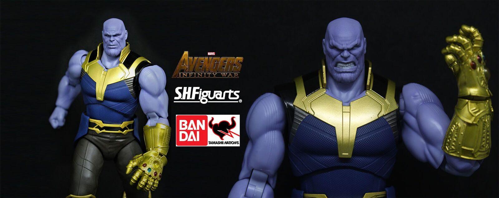 Recensione : Thanos – S.H. Figuarts di Tamashii Nations