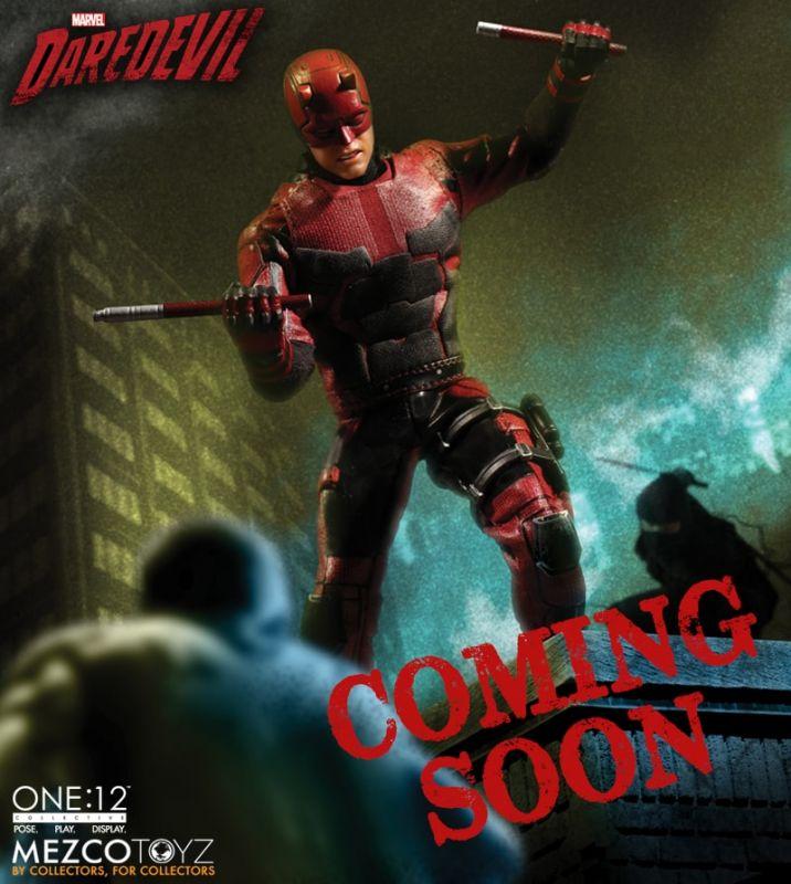 Mezco Toys annuncia Netflix Daredevil per la linea One:12 Collective (Update)