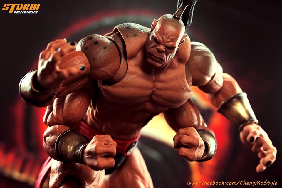 Storm Collectibles , le foto di Goro da Mortal Kombat in scala 1/12