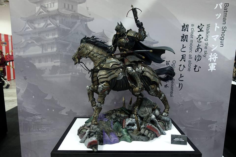 Batman Shogun on the horse da XM Studios