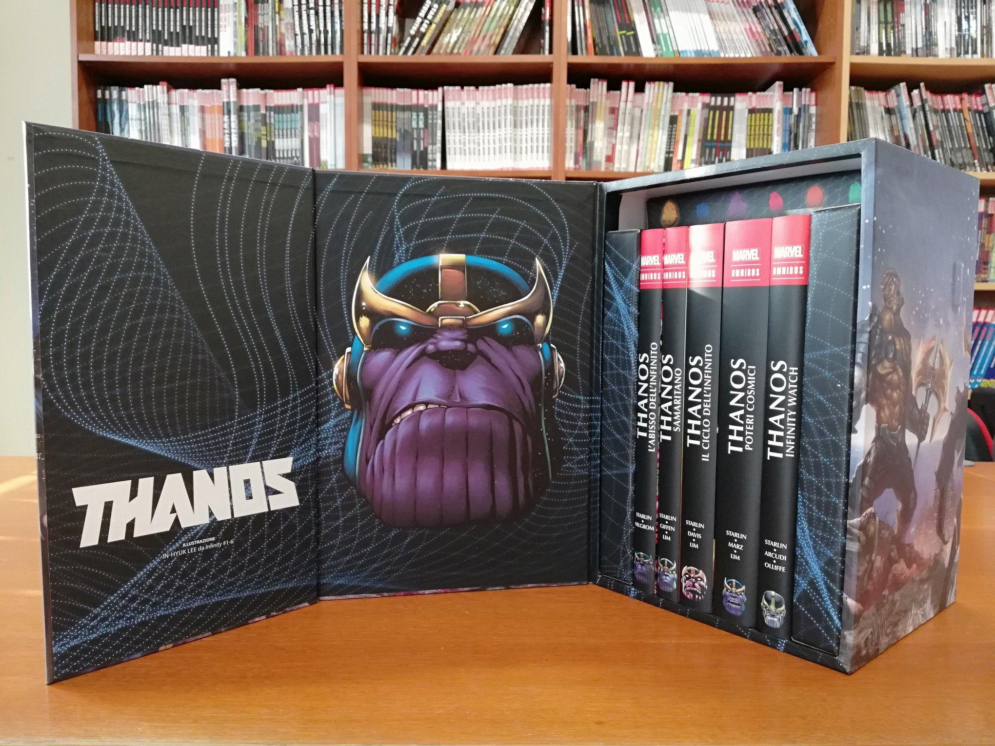 Thanos Omnibus, Il Mega Cofanetto di Panini in arrivo