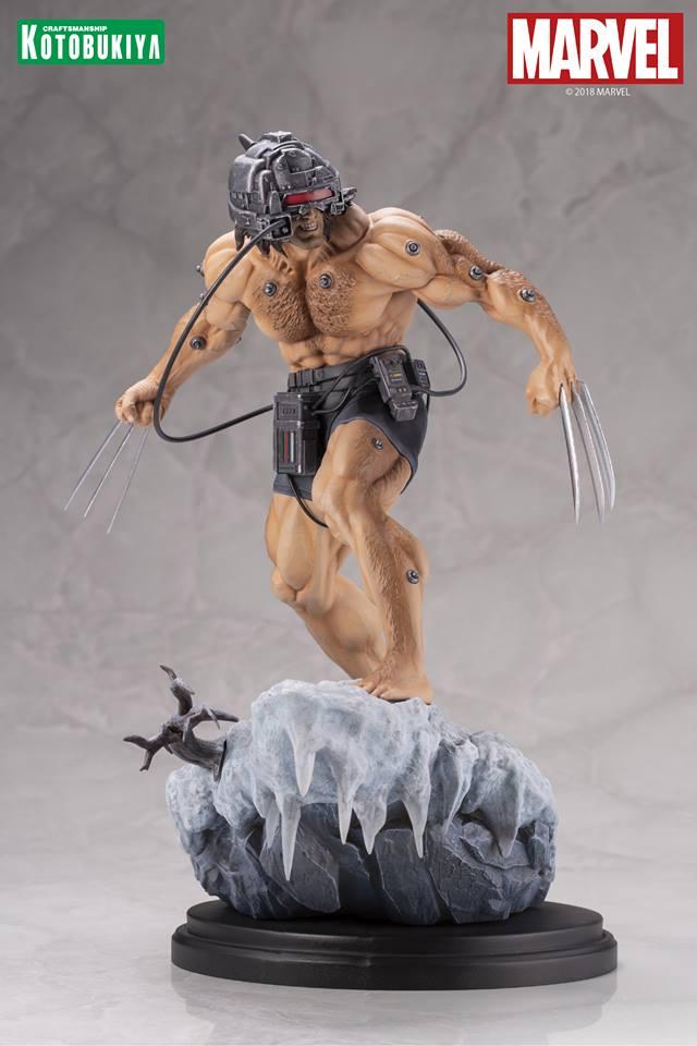 X-Men: Weapon-X Fine Art Statue di Kotobukiya