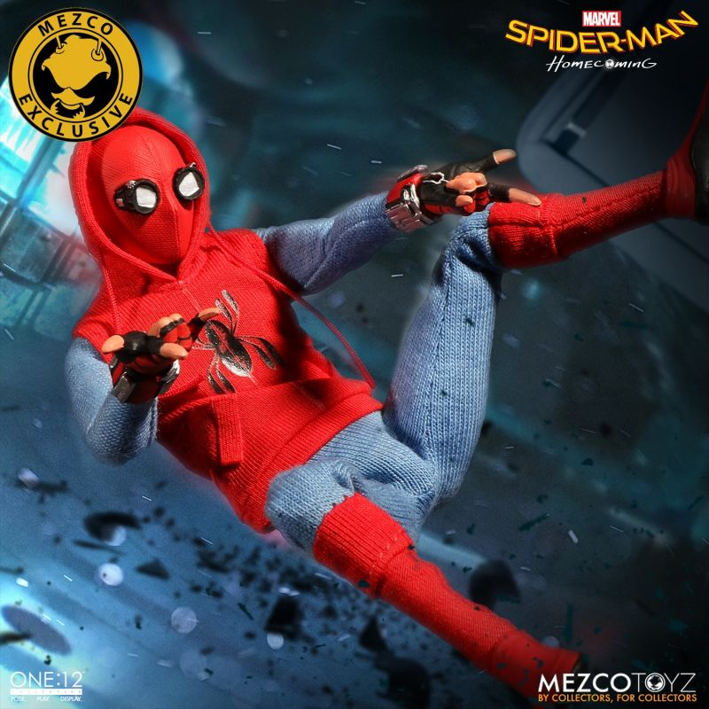 """Mezco Toyz, """"Spider-Man: Homecoming"""" – Homemade Suit Edition"""