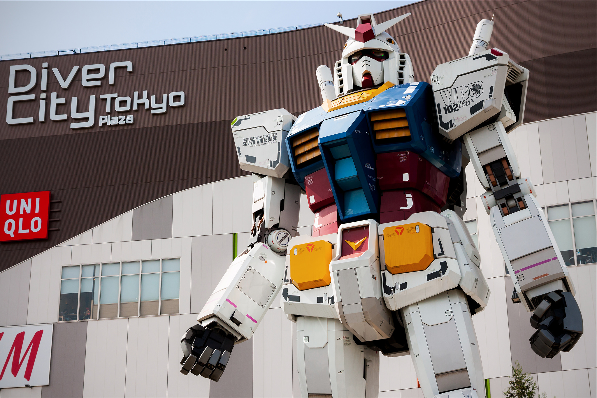 Un Gundam 1:1 capace di muoversi a Yokoama