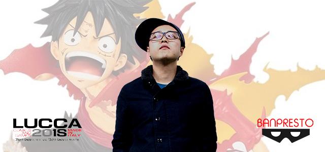 Lucca Comics 2018: L'incontro con Kengo, il giovane scultore giapponese di Banpresto