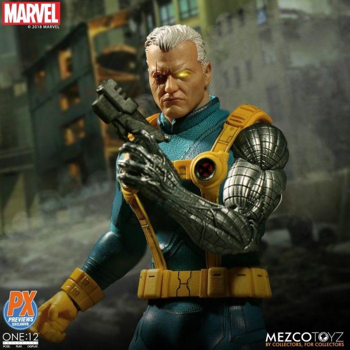 Mezco: Cable One:12 X-Men