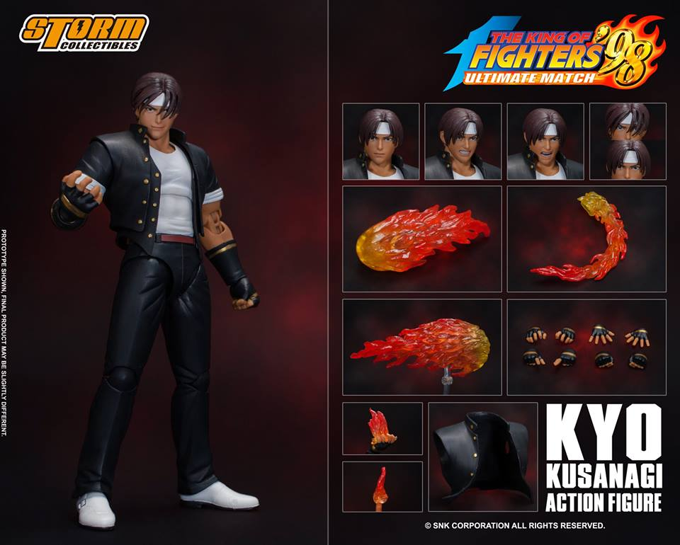 Kyo Kusanagi da The Kinf of Fighters '98 Ultimate Match – Storm Collectibles