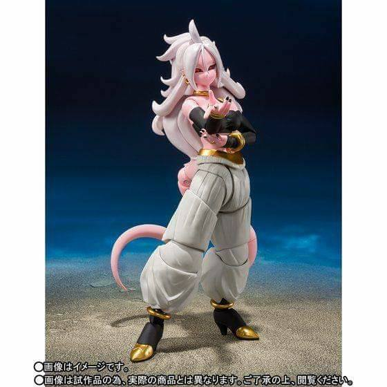 Figuarts Android 21 Dragon Ball fighterz Figure Bandai Tamashii Nations S.H