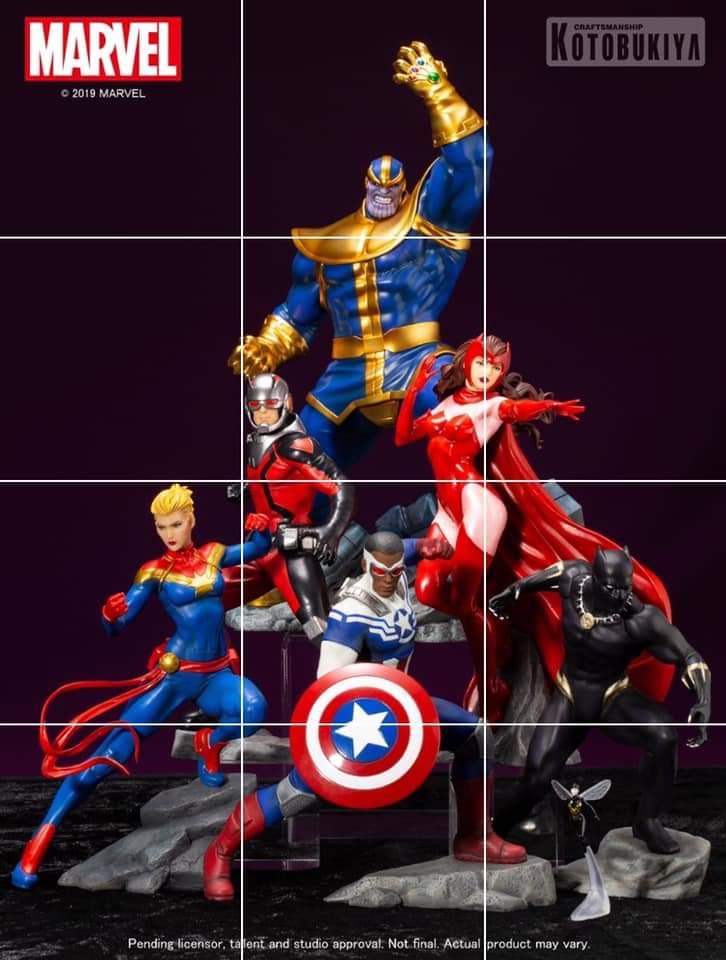 Avengers ARTFX Kotobukiya Statue Thanos scale 1/10
