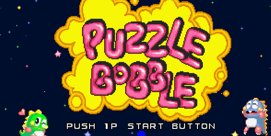 Classic Arcade: Puzzle Bubble by Taito (Bust a Move, USA ver.)