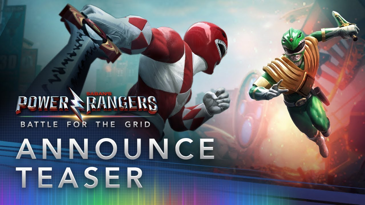 Power Rangers Battle for the Grid annunciato per console e PC