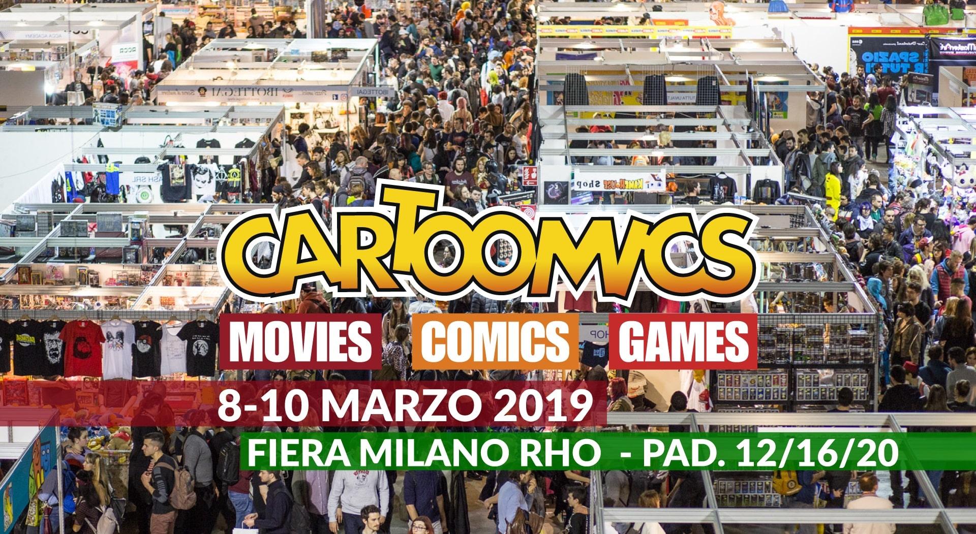 Cartoomics 2019: incontra lo staff di Toyzntech in fiera a Rho (Milano)