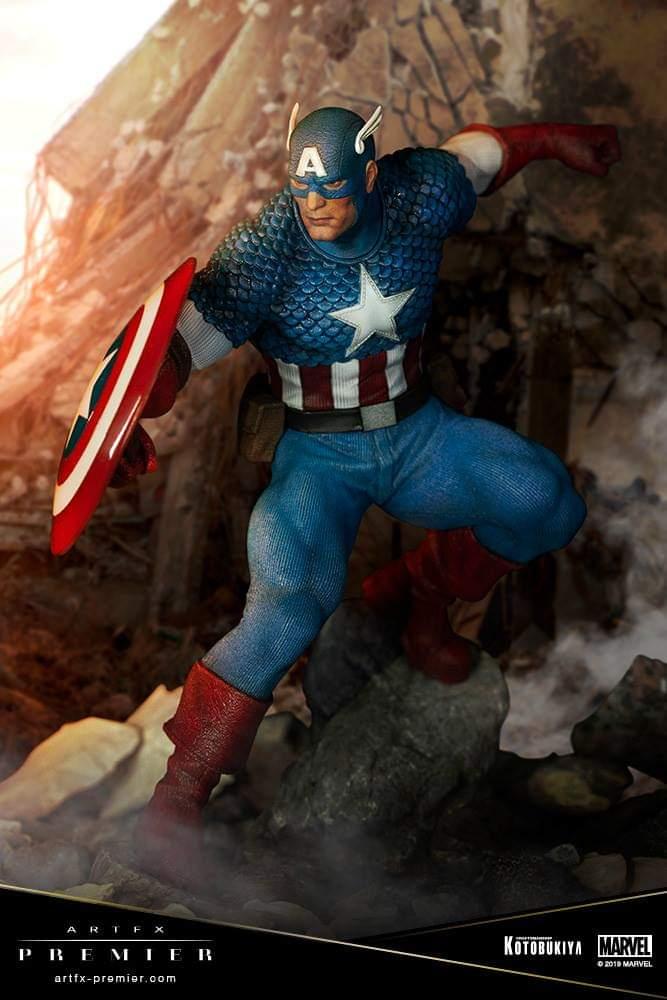 Kotobukiya, Captain America ARTFX Premiere