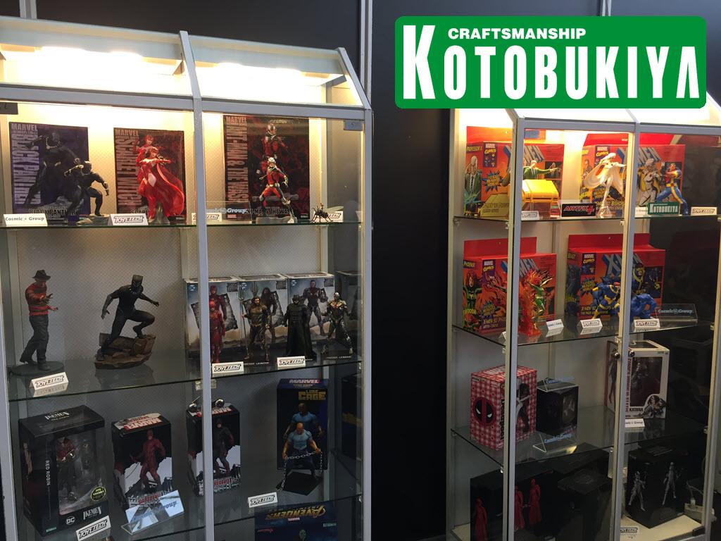 Kotobukiya in esposizione al Festival del Fumetto