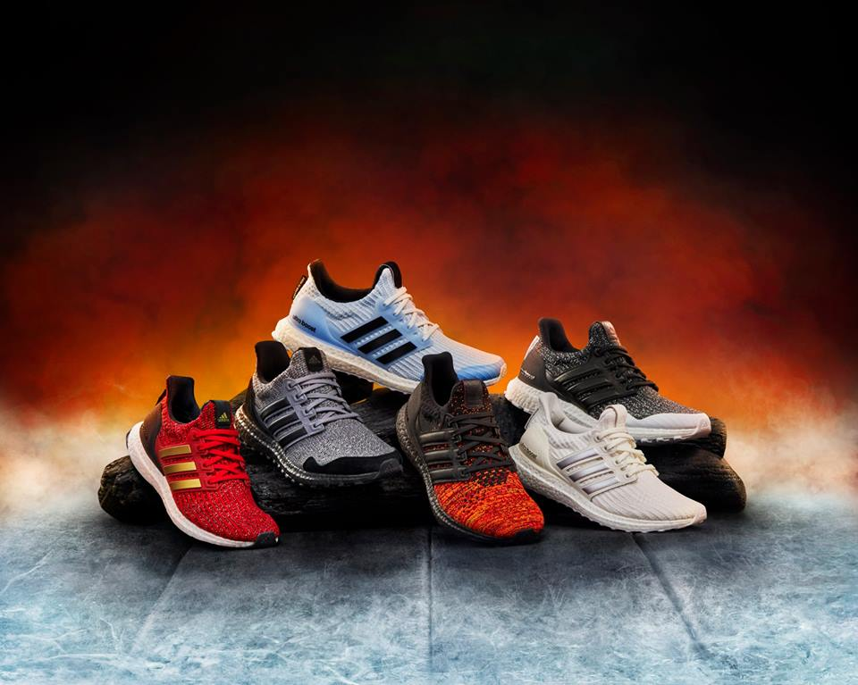 Game of Thrones x adidas Running Ultraboost collection