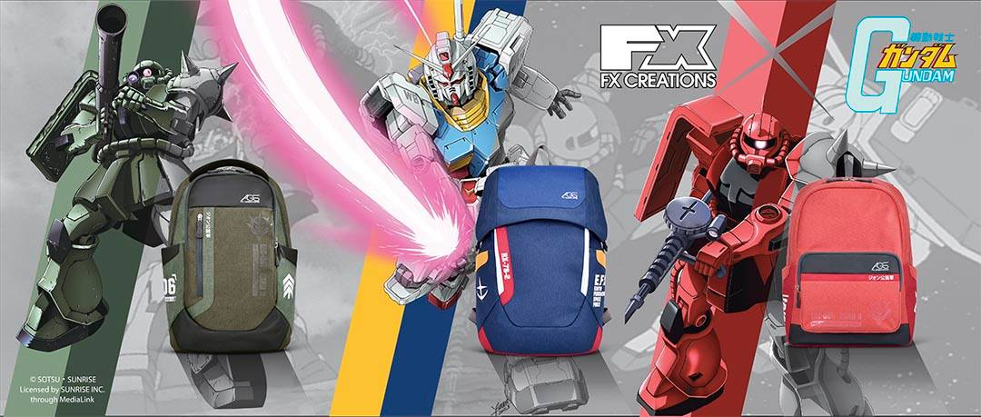 Fx Creation presenta gli zaini di Gundam!